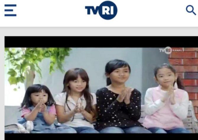 TVRI Klik yang bisa ditonton secara streaming via hape (skrinsut dari apps TVRI Klik)