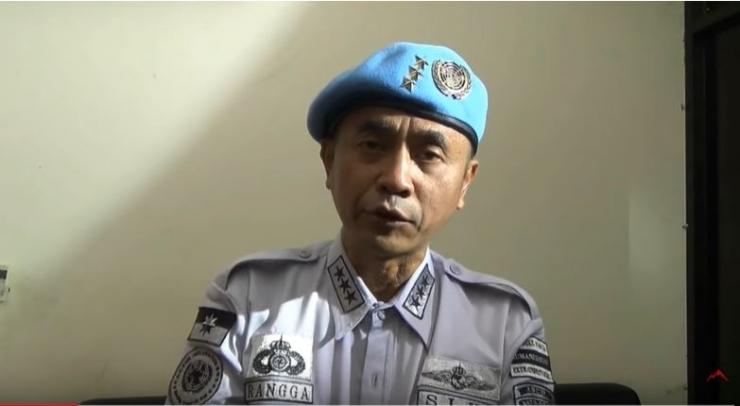 Petinggi Sunda Empire, KI Raden Rangga Sasana (Sumber gambar: Youtube/Java Timeline via Tribunnews.com)