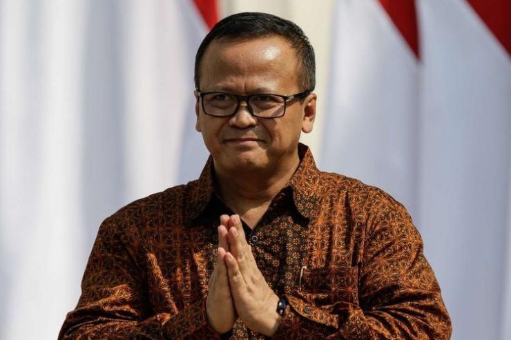 Menteri Kelautan dan Perikanan, Edhy Prabowo | Gambar: KOMPAS.com