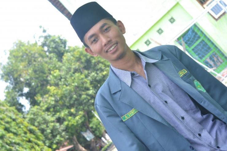 Ketua PC IPNU Kabupaten Nganjuk Periode 2018-2020, Ahmad Syafi'i Sulaiman   Dok. Pri.