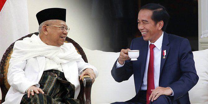 Presiden Joko Widodo dan Wakil Presiden Ma'ruf Amin | Sumber gambar : www.merdeka.com