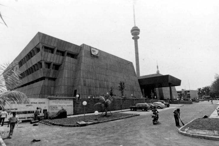 foto tua gedung TVRI Nasional Jakarta | dok. Kompas