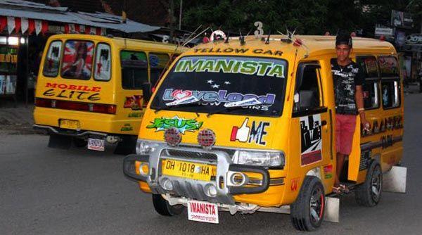 Salah satu angkot Kota Kupang | Lintas NTT