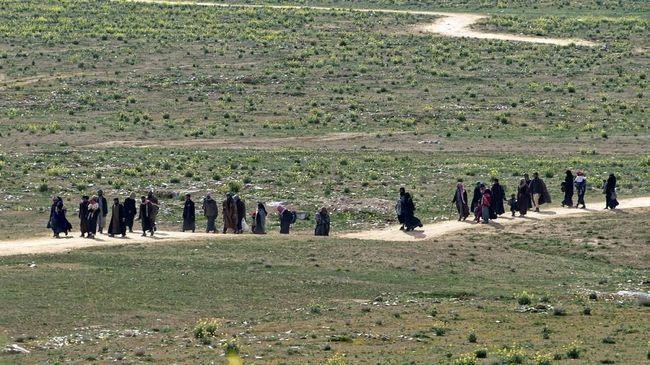 Para WNI eks ISIS yang terlunta-lunta di negeri orang | Sumber gambar : www.cnnindonesia.com