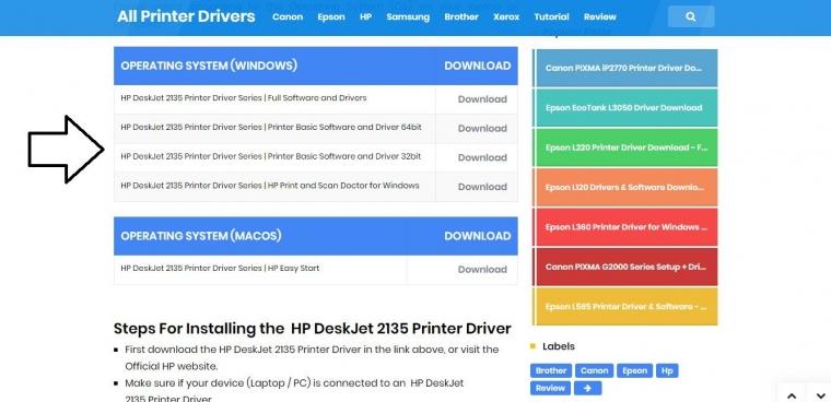 Cara Download Driver Hp Deskjet 2135 Dan Cara Instal Kompasiana Com
