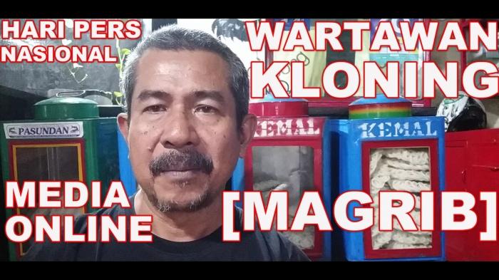 Media Online, Wartawan Kloning. Foto: isson khairul