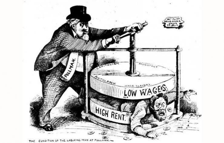 Ilustrasi, Kapitalis Serabutan dan RUU Cipta Kerja [nationofchange.org]