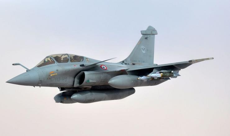Jet tempur Rafale buatan Perancis. Sumber gambar: Capt. Jason Smith/defenseimagery.mil