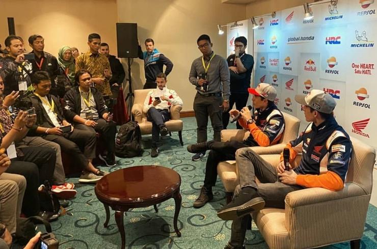 Dokumen Pribadi: Jumpa Marquez Bersaudara Jakarta 2020