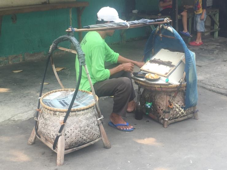 Penjual Tahu Gejrot Keliling. (Foto: Dokumentasi Pribadi)