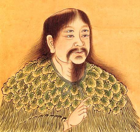 Ilustrasi Changjie dengan empat mata (sumber: wikipedia.org)