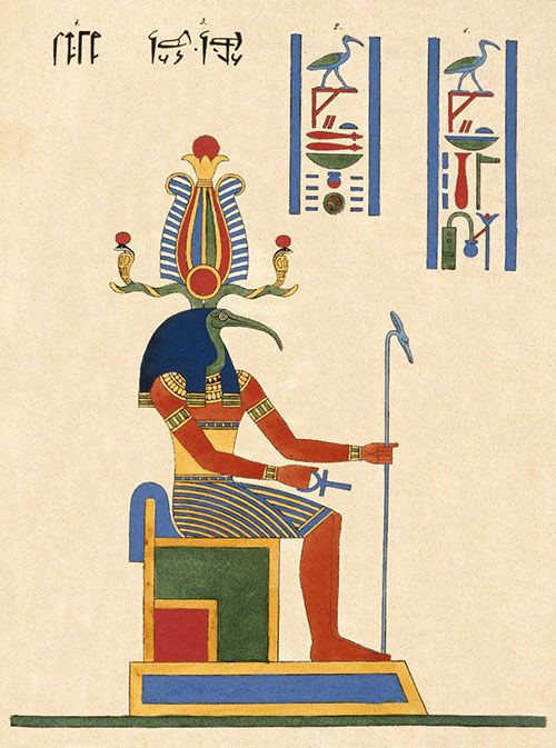 Thoth, Museum Brooklyn (sumber: egyptiangeographic.com)