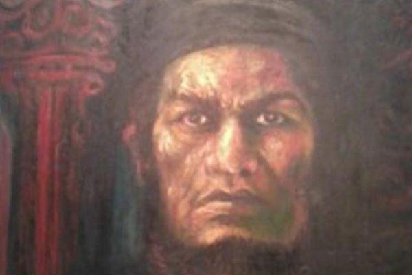 Lukisan Sisingamangaraja XII Karya Augustin Sibarani