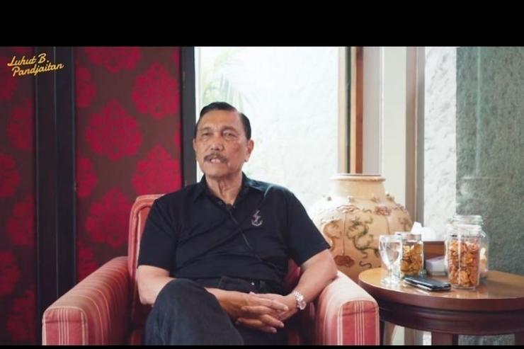 Luhut Binsar Pandjaitan. Foto: KOMPAS.com/Ade Miranti Karunia Sari