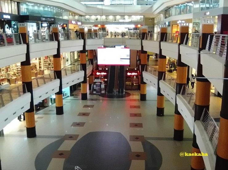 Suasana Sepi Sehari Sebelum Duta Mall Ditutup (dokpri)