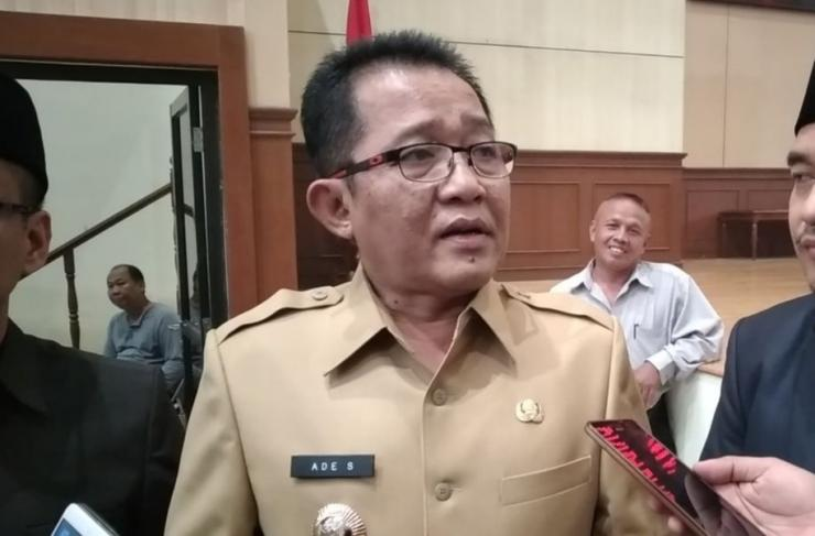 Bupati Tasikmalaya,  Ade Sugianto.  | tasikmalaya.pikiran-rakyat.com