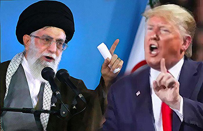 Ali Khamenei [middleeasteye.net] dan Donald Trump [headtopics.com]