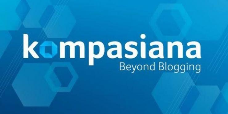 Logo dan slogan Kompasiana (kompasiana.com)
