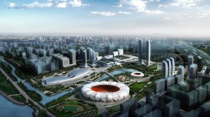 Hangzhou Olympic Sports Center (www.nbbj.com)