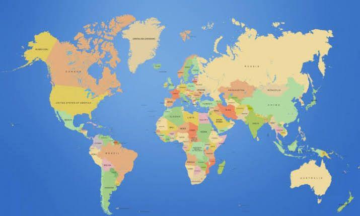 Peta dunia (WinnetNew.com)