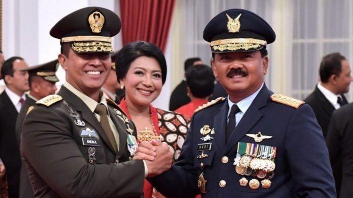 KSAD, Panglima TNI. Tribunnews.com