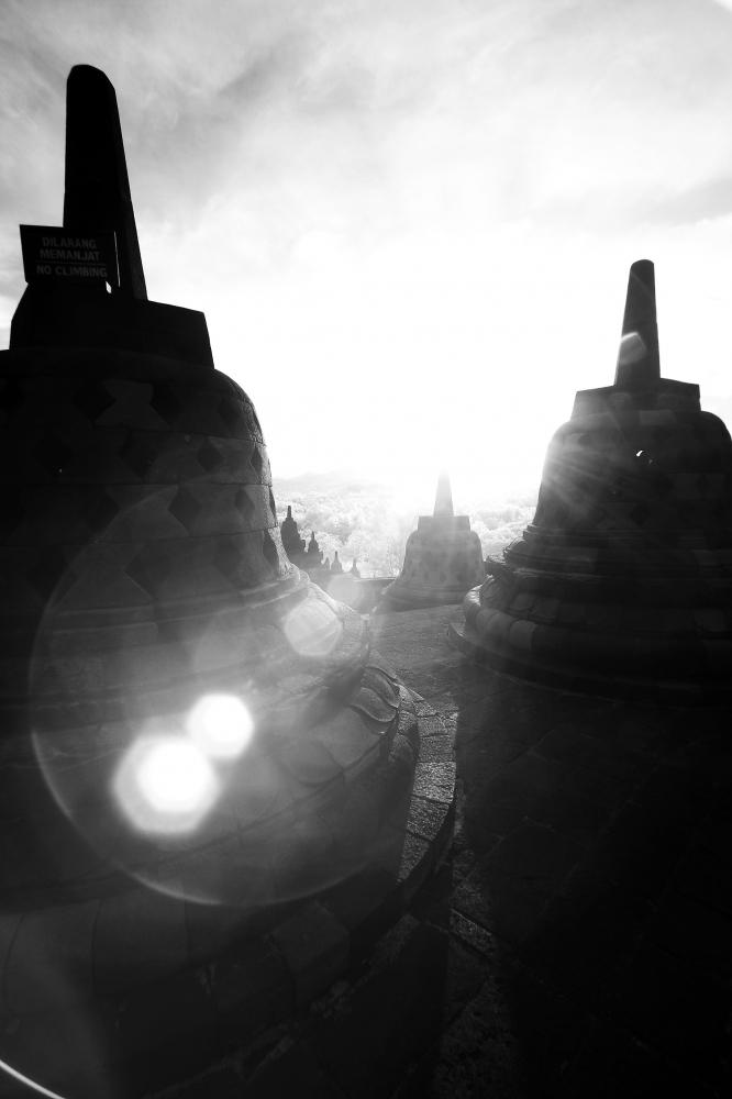 Foto Borobudur oleh Arbain Rambey