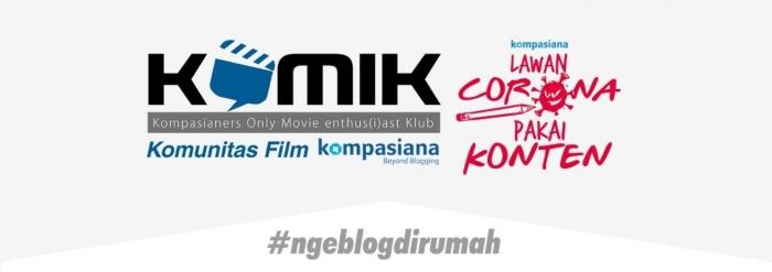 ngeblog di rumah (logo:Kompasiana)