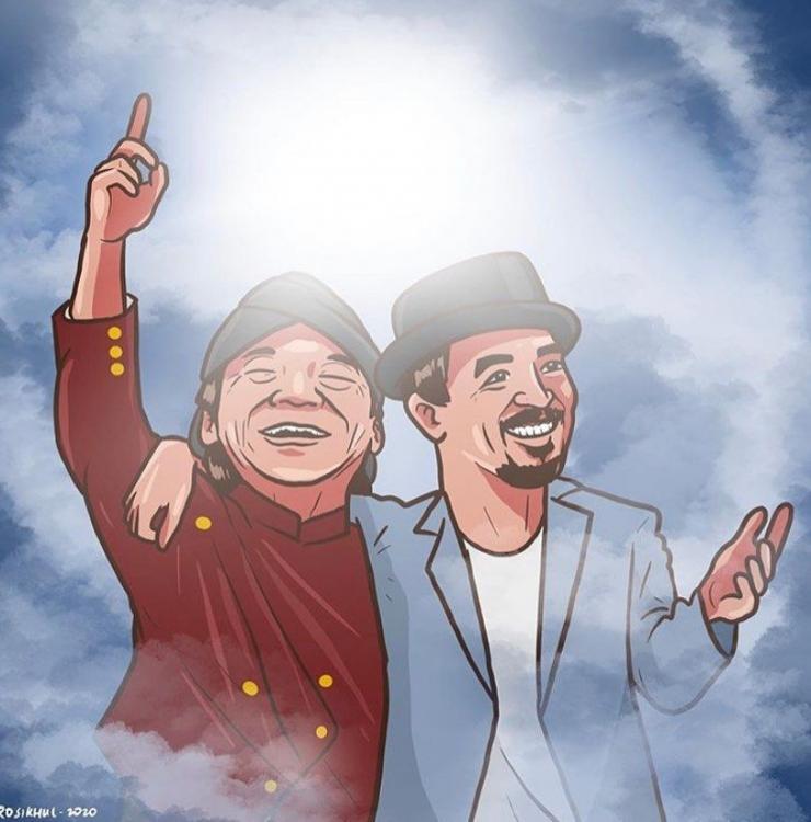 Karikatur Didi dan Glenn, foto: Instagram/@osiasu