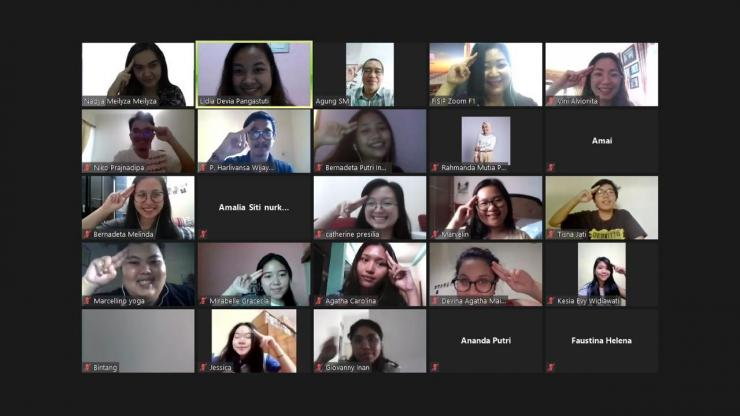 Sebagian peserta PR Web Mini Class, dokpri