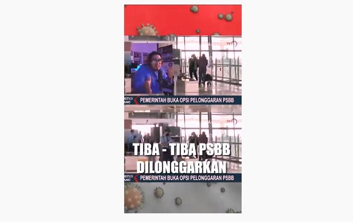 tangkapan layar dari lagu The Rap Up Indonesia - Terserah. (Youtube.com/The Rap Up Indonesia)