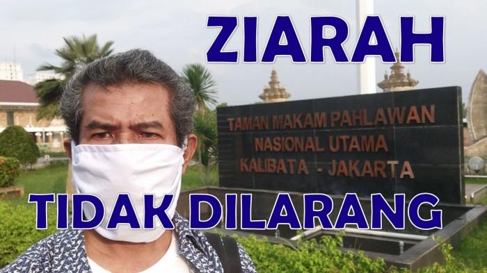 Ziarah ke makam orangtua di Taman Makam Pahlawan Kalibata, Jakarta Selatan, di pekan terakhir ramadhan. Ternyata dibolehkan. Tidak dilarang. Foto: isson khairul