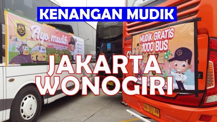Mari mengenang asyiknya mudik. Ini mudik kenangan saya dari Jakarta ke Wonogiri. Mudik gratis bersama Kementerian Perhubungan. Asyik dan seru, tentunya. Foto: isson khairul