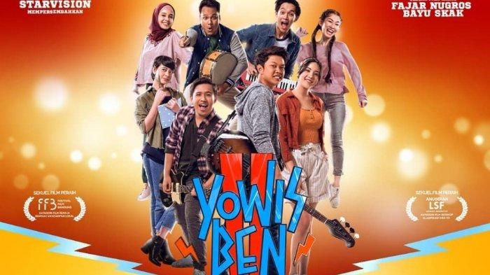 Film Yowes Ben 2 akan tayang di televisi swasta pada lebaran kali ini. | Foto: tribunnews.com