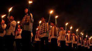 Pawai obor malam takbiran (indonews.id)