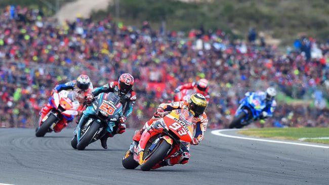 Marc Marquez di MotoGP (AFP/Jose Jordan)