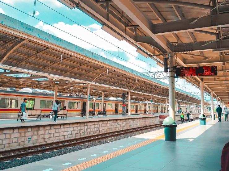 Wajah baru stasiun Jatinegara, Jakarta (Dokumentasi Pribadi)