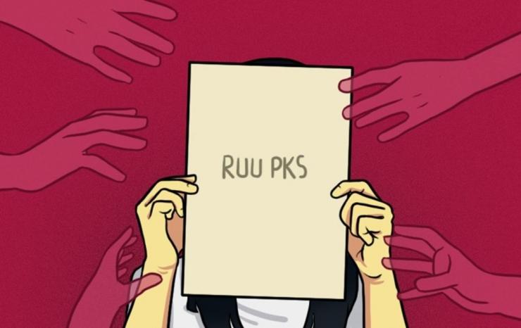 Ilustrasi Polemik RUU PKS. Sumber: asumsi.co