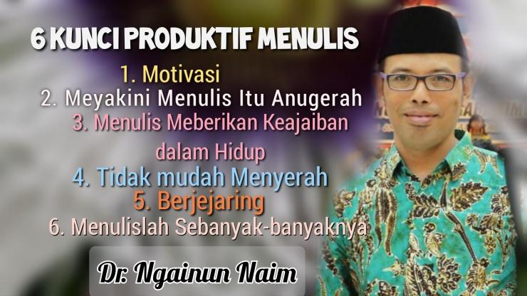 Dr. Ngainun Naim (edit by Suryan Masrin)