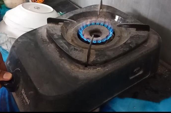 Percobaan Biogas (Dok. Mahasiswa)