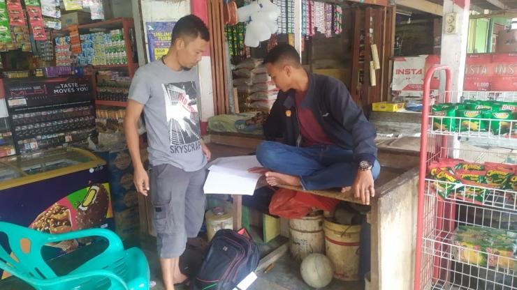 DokPri | Pendamping Lokal Desa sedang menfasilitasi pengurus BUMDES dalam upaya digitalisasi pelaporan Bumdes