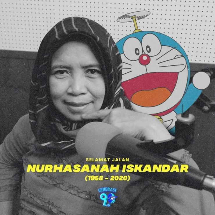 Almarhumah Ibu Nurhasanah | Sumber gambar: instagram.com/generasi90an (@generasi90an)
