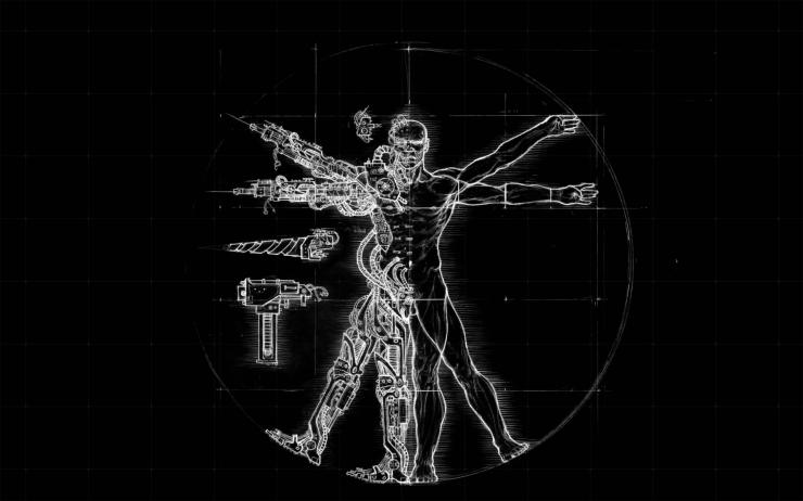 Transhuman (sumber gambar: cutewallpaper.org/)