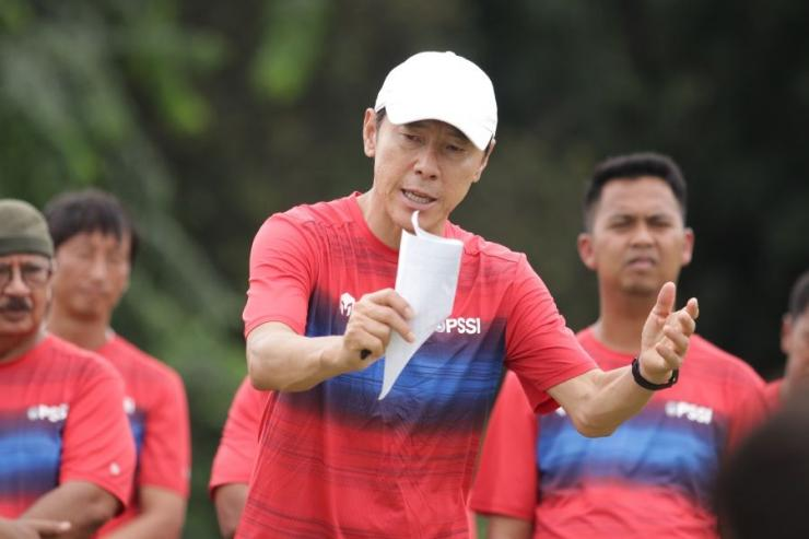 Shin Tae Yong Pelatih Timnas Indonesia (Sumber : www.pssi.org)