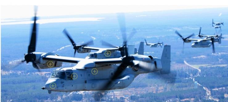 Deskripsi : Indonesia Tersiar Kabar Tertarik Membeli MV-22 Osprey Block C buatan USA I Sumber Foto : Boeing