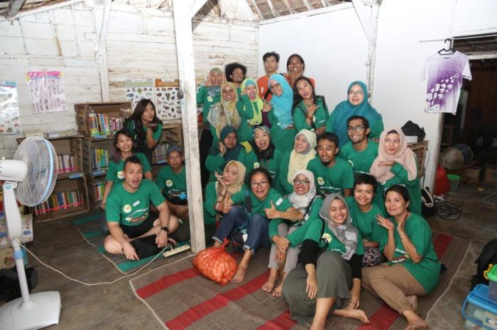 Kegiatan literasi di Tuban tahun 2020 (dok. Komunitas Lebah)