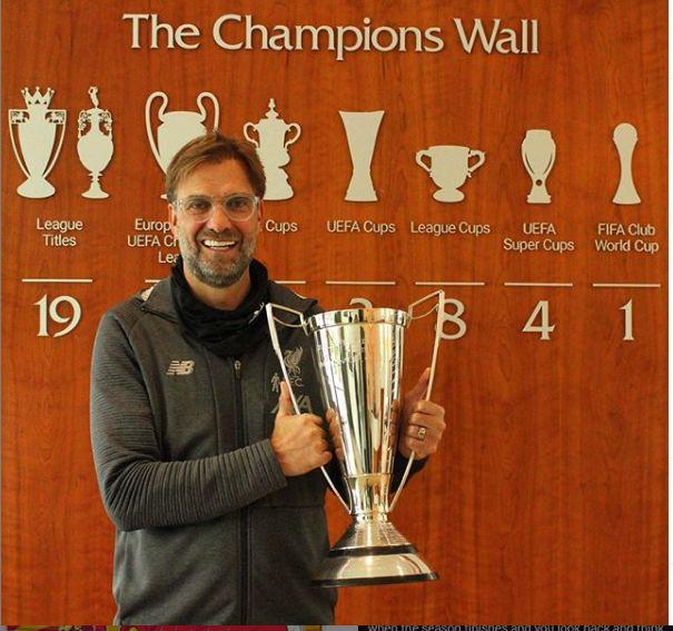 Pelatih Liverpool Jurgen Klopp (Sumber: Instagram Liverpool @liverpoolfc)