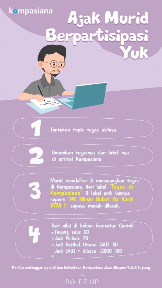 Infografis untuk Tenaga Pengajar