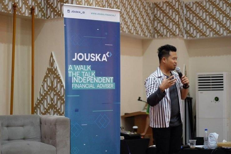Founder sekaligus CO PT Jouska Finansial Indonesia, Aakar Abyasa Fidzuno   Sumber: trenasia.com
