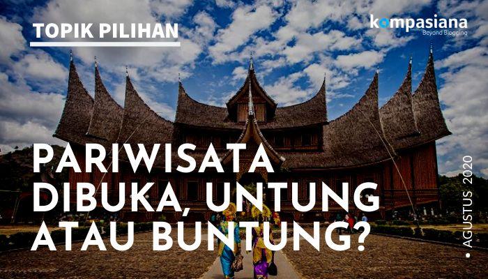ilustrasi piriwisata lokal di Sumatera Barat. (Diolah dari sumber gambar Shutterstock via kompas.com)