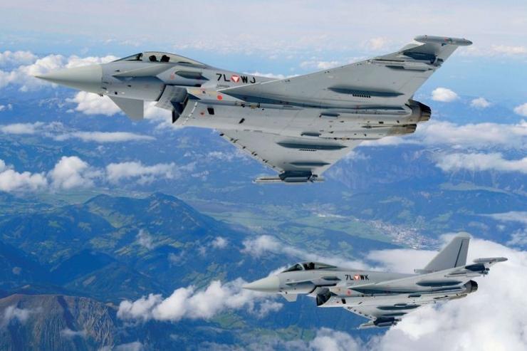 Eurofighter Typhoon AU Austria. (sumber: Eurofighter.com)